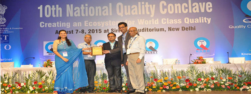 D.L.SHAH NATIONAL QUALITY AWARD